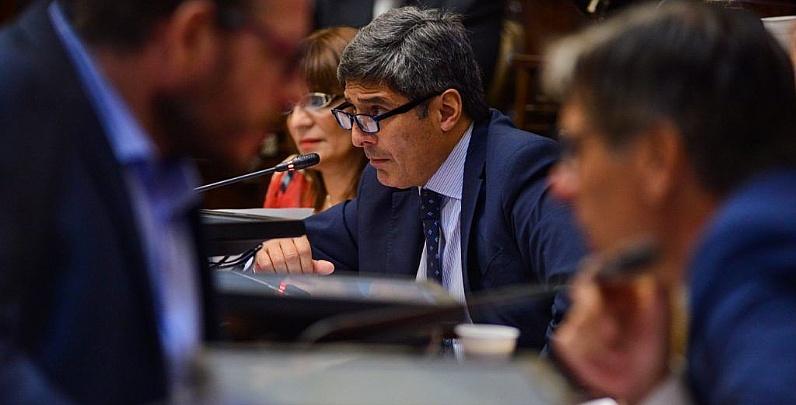 Sanción definitiva del Senado a las leyes de Avalúo e Impositiva